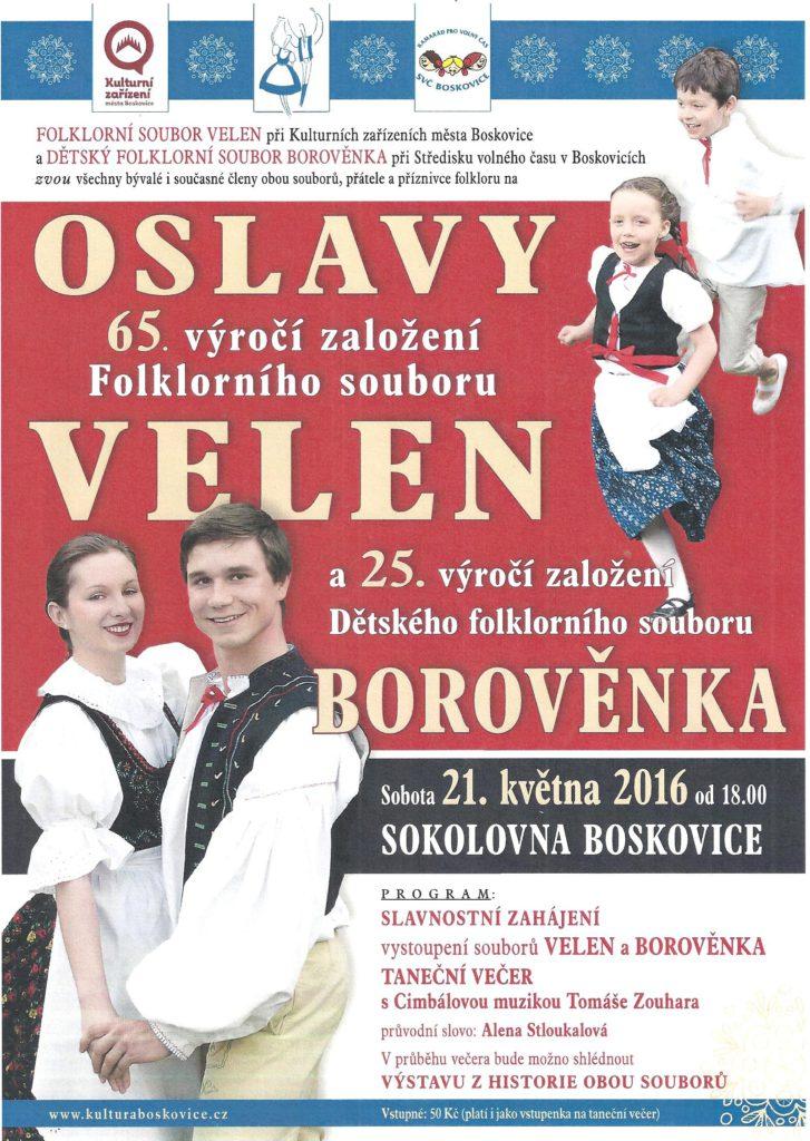 Velen Boskovice - 65 let