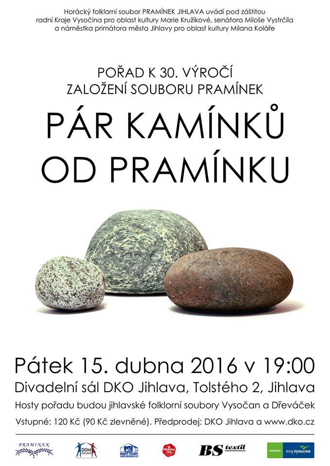30 let souboru Pramínek Jihlava