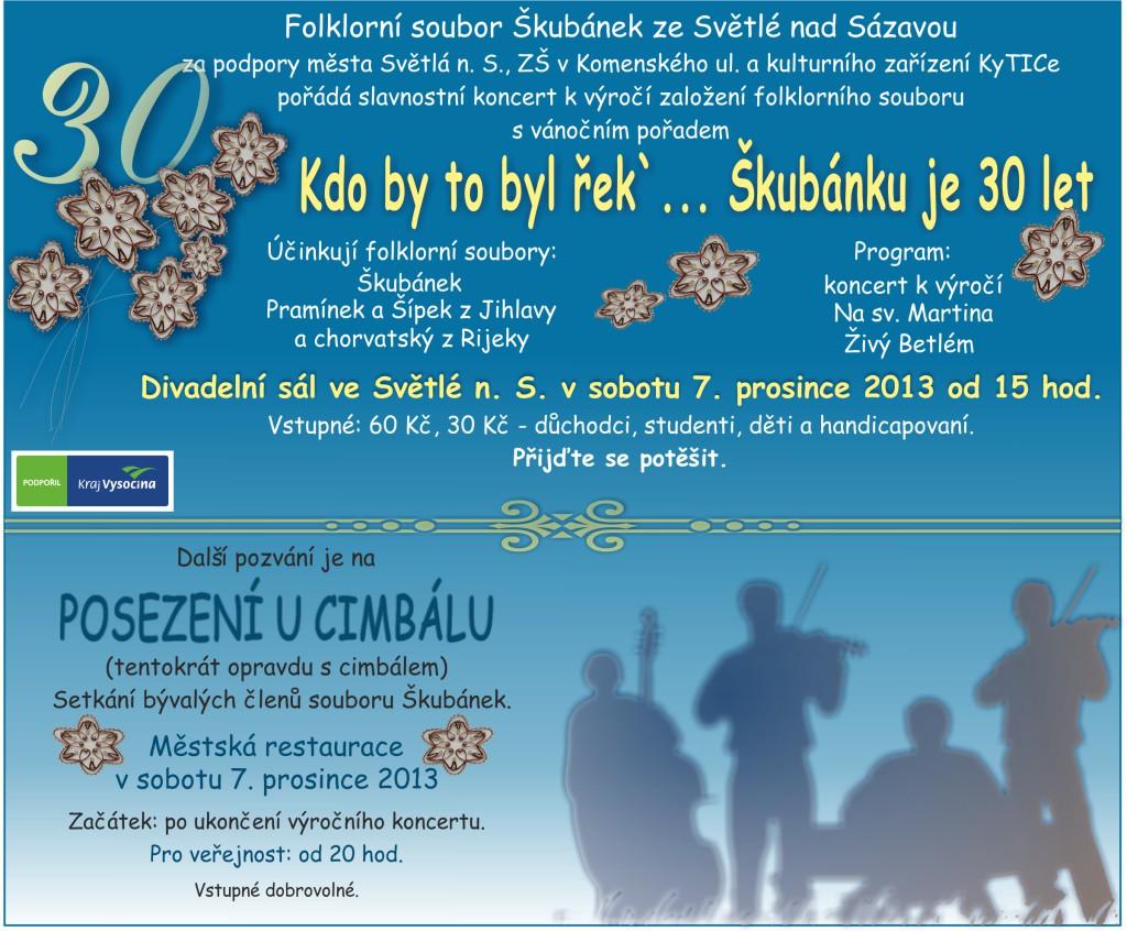 30 let souboru Škubánek