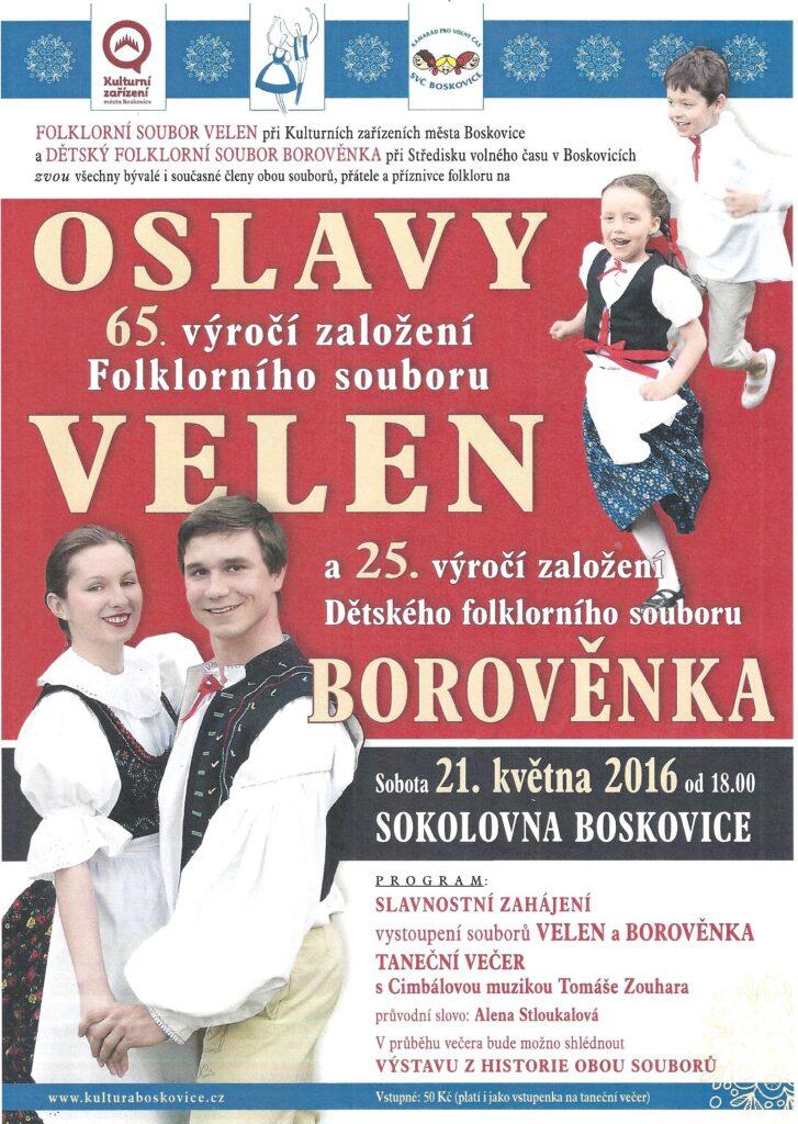65 let souboru Velen Boskovice