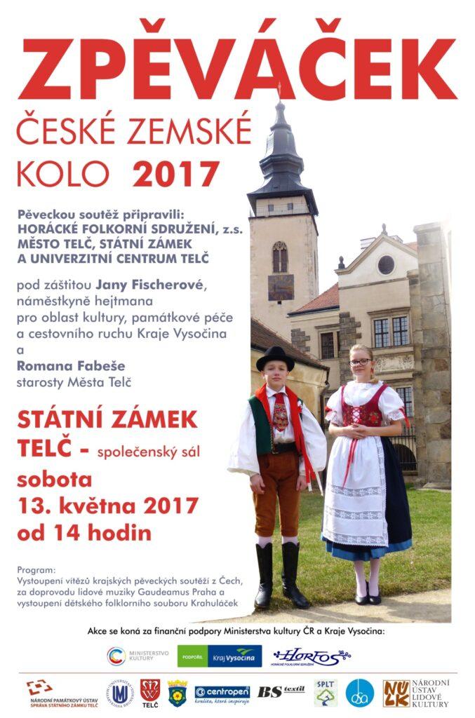 České zemské kolo Zpěváček 2017
