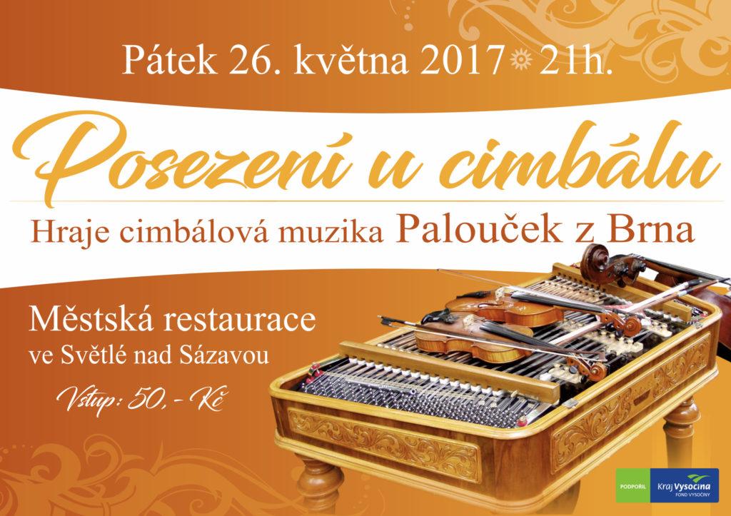 Horácko zpívá a tančí 2017 - Světlá nad Sázavou - Posezení u cimbálu