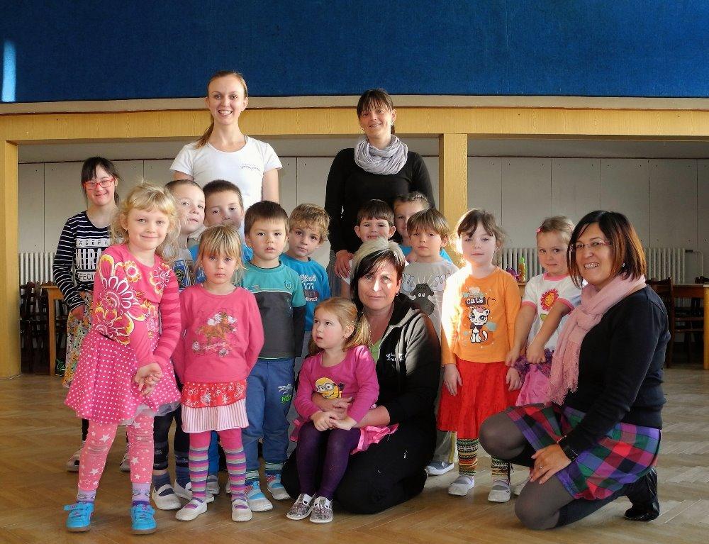 Pohybový seminář pro děti v souboru Krahuláček