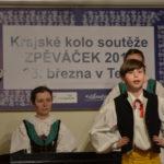 Zpěváček 2017 - Horácko