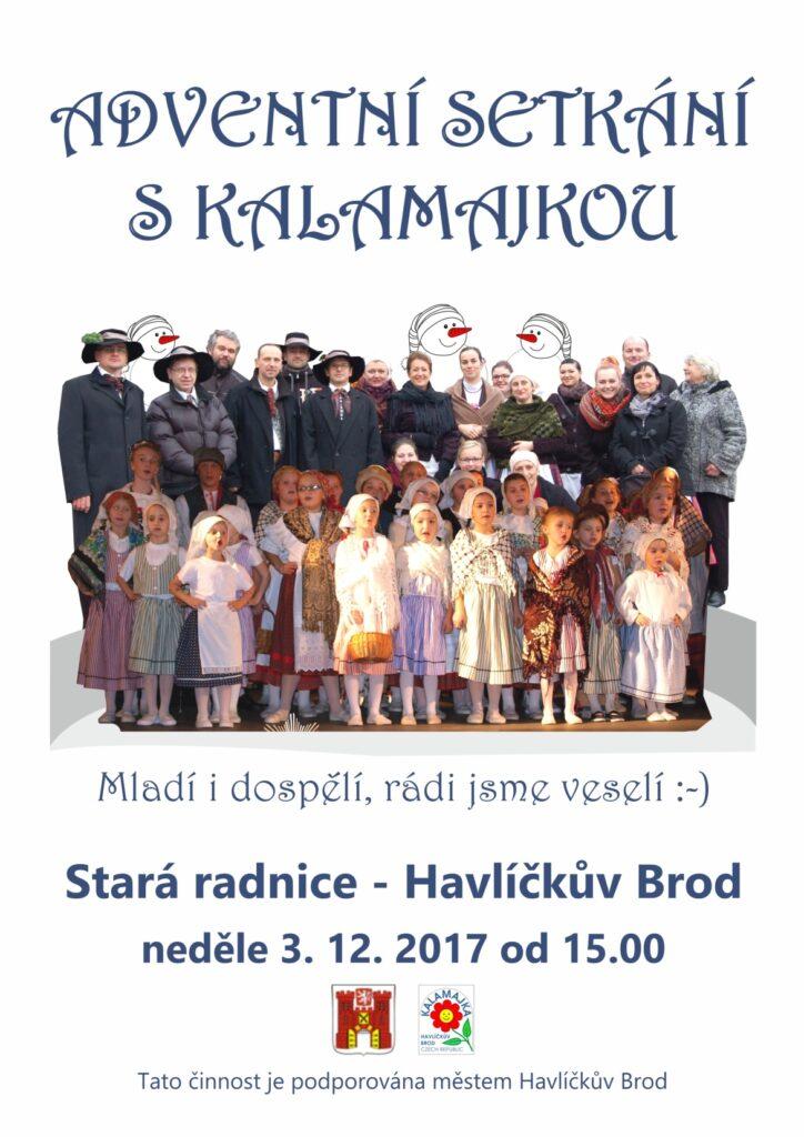Adventní setkání s Kalamajkou 2017