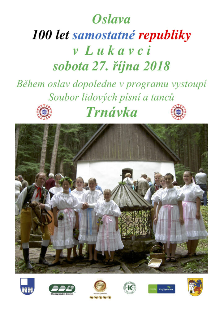 Oslava 100 let samostatné republiky v Lukavci 2018