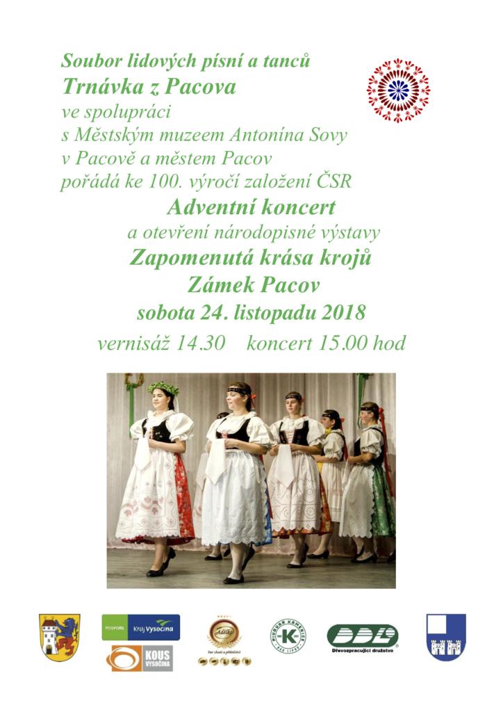Adventní koncert Trnávka Pacov 2018