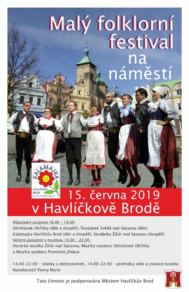 Malý folklorní festival, Havlíčkův Brod 2019