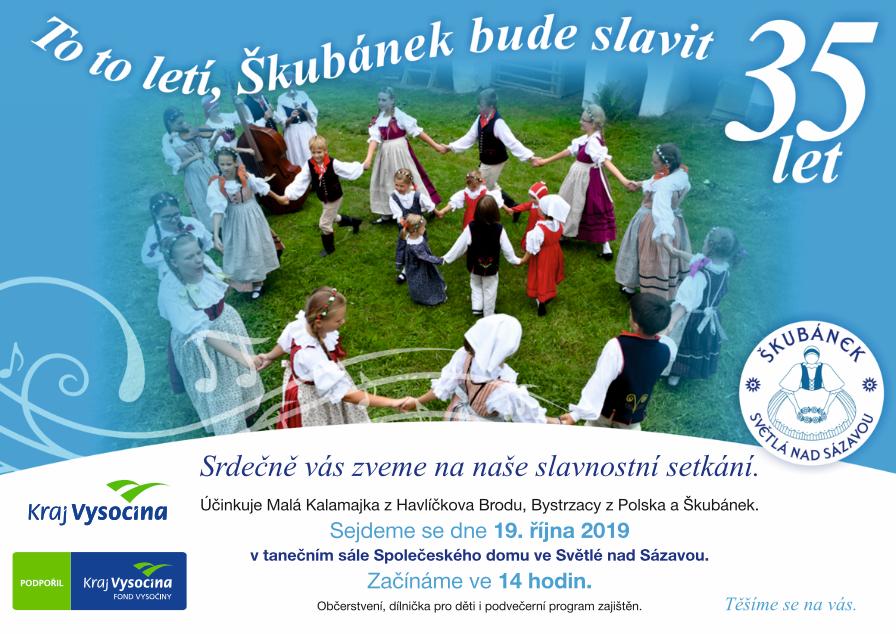35 let souboru Škubánek, Světlá nad Sázavou