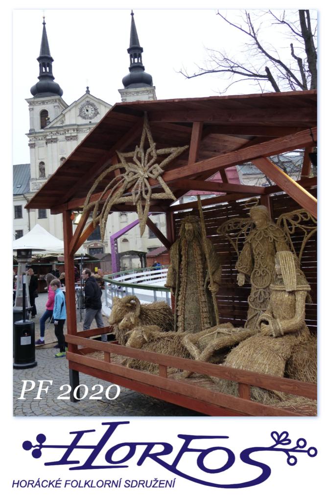 PF2020 přeje Horácké folklorní sdružení