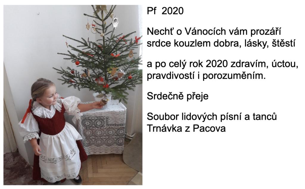 PF2020 přeje Trnávka Pacov